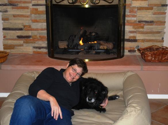 Jan and Mattie dog