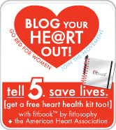 Blog your heart out badge