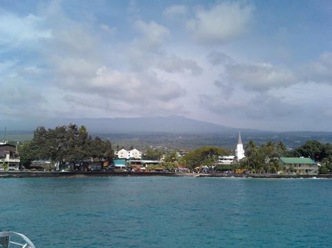 Kailua-Kona coast