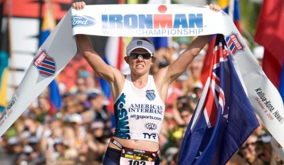 Mirinda Carfrae, Women's Winner Kona Ironman 2010